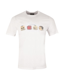 Paul Smith Mens White Dice T Shirt