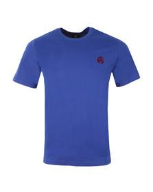 Paul Smith Mens Blue Regular Small Logo T Shirt