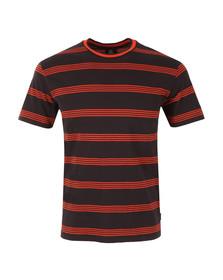 Paul Smith Mens Blue Stripe T Shirt