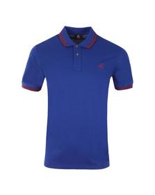 Paul Smith Mens Blue S/S Polo Shirt