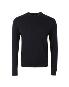 Paul Smith Mens Blue Light Crew Neck Knit