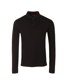 Hugo Mens Black Dirage Polo Shirt