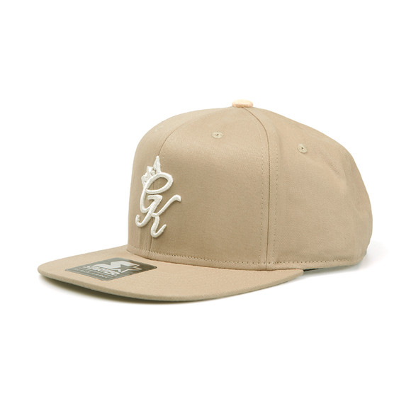 Gym king Mens Beige Core Signature Snapback main image