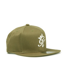 Gym king Mens Green Core Signature Snapback