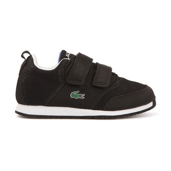 Lacoste Sport Boys Black Light 117 Trainer main image