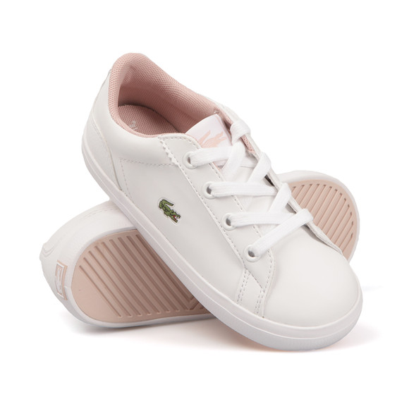 Lacoste Sport Girls White Lerond S116 Trainer main image