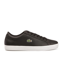 Lacoste Mens Black Straightset BL 1 CAM Trainer