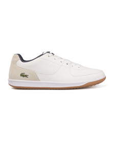 Lacoste Mens White LS. 12-Minimal