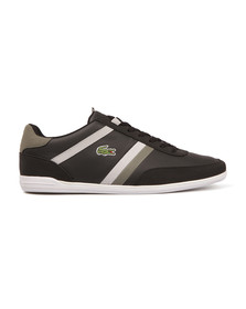 Lacoste Mens Black Giron 117 1 CAM Trainer