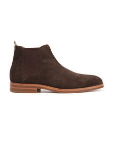 H By Hudson Mens Brown Tonti Suede Boot