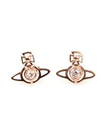 Vivienne Westwood Womens Pink Nora Earrings