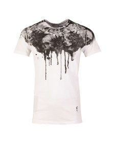 Religion Mens White Sun Flower T Shirt