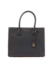 Michael Kors Womens Blue Mercer Large Tote
