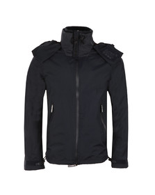 Superdry Mens Blue New Hooded Cliff Hiker Jacket
