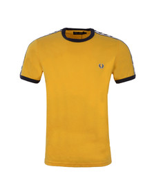Fred Perry Sportswear Mens Gold Taped Ringer T-Shirt