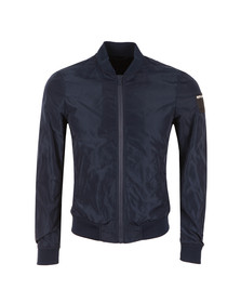 Replay Mens Blue Bomber Jacket