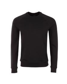 Armani Jeans Mens Blue Embossed Logo Sweatshirt