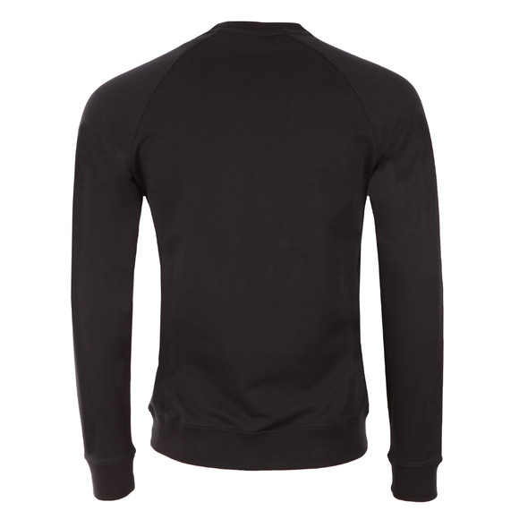Armani Jeans Mens Blue Embossed Logo Sweatshirt main image