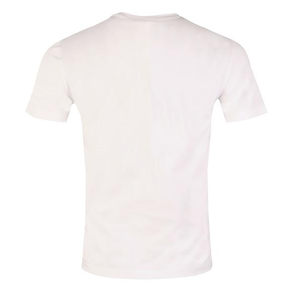 Armani Jeans Mens White Stripe Logo T Shirt main image