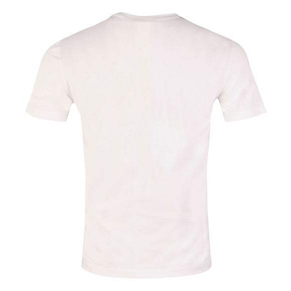 Armani Jeans Mens White Large Logo T Shirt main image