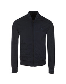 Fred Perry Mens Blue Tonic Bomber Jacket