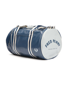 Fred Perry Sportswear Mens Blue Classic Barrel Bag