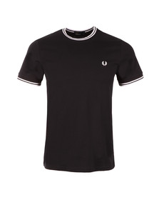 Fred Perry Mens Blue Twin Tipped T-shirt