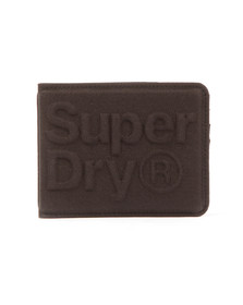Superdry Mens Black Lineman Montana Wallet
