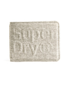 Superdry Mens Grey Lineman Montana Wallet