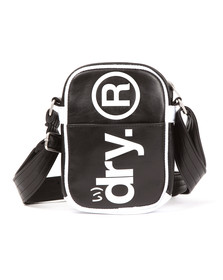 Superdry Mens Black Festival Bag