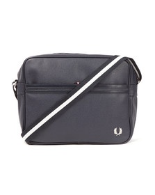Fred Perry Mens Blue Scotchgrain Shoulder Bag