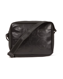 Superdry Mens Black Lineman Messenger Bag