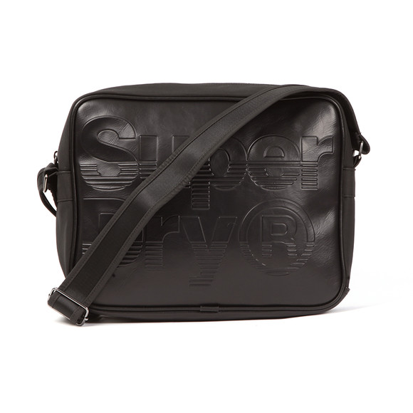 f5a4c325d2 Superdry Mens Black Lineman Messenger Bag main image