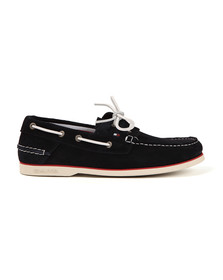 Tommy Hilfiger Mens Blue Boat Shoe