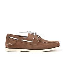 Tommy Hilfiger Mens Beige Boat Shoe
