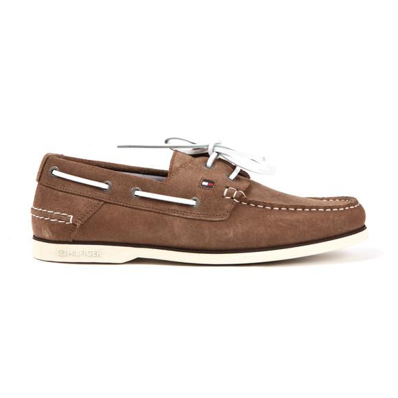 Tommy Hilfiger Mens Beige Boat Shoe main image