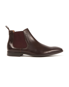 Paul Smith Mens Brown Falconer Leather Boot