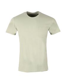 Edwin Mens Green Pocket T Shirt