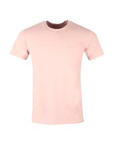 Edwin Mens Pink Pocket T Shirt