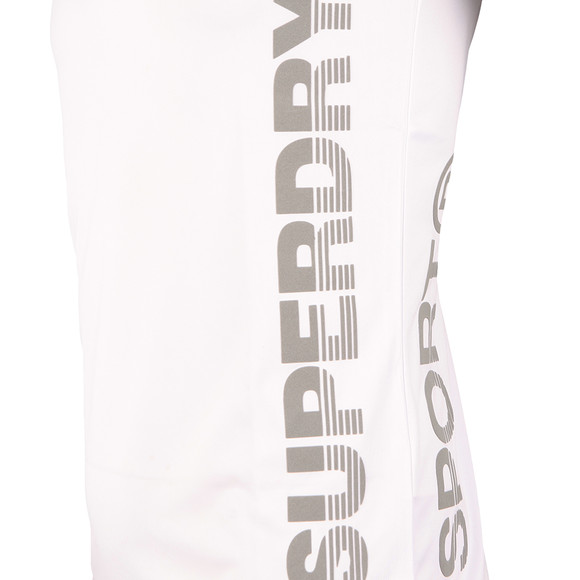 Superdry Sport Mens White S/S Active Tee main image