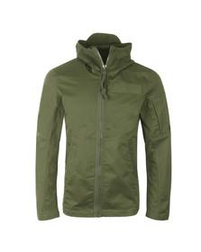 G-Star Mens Green Batt Hooded Overshirt