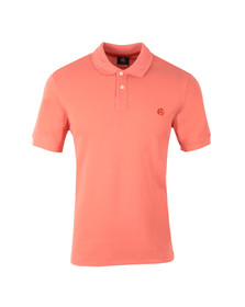 Paul Smith Mens Pink S/S Polo Shirt