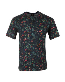 Paul Smith Mens Multicoloured Allover Jungle Print T Shirt