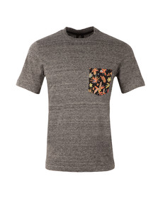 Paul Smith Mens Grey Jungle Pocket T Shirt