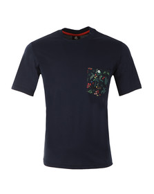 Paul Smith Mens Blue Jungle Pocket T Shirt