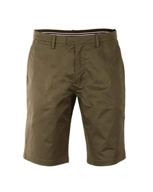Fred Perry Mens Green Sharp Twill Short
