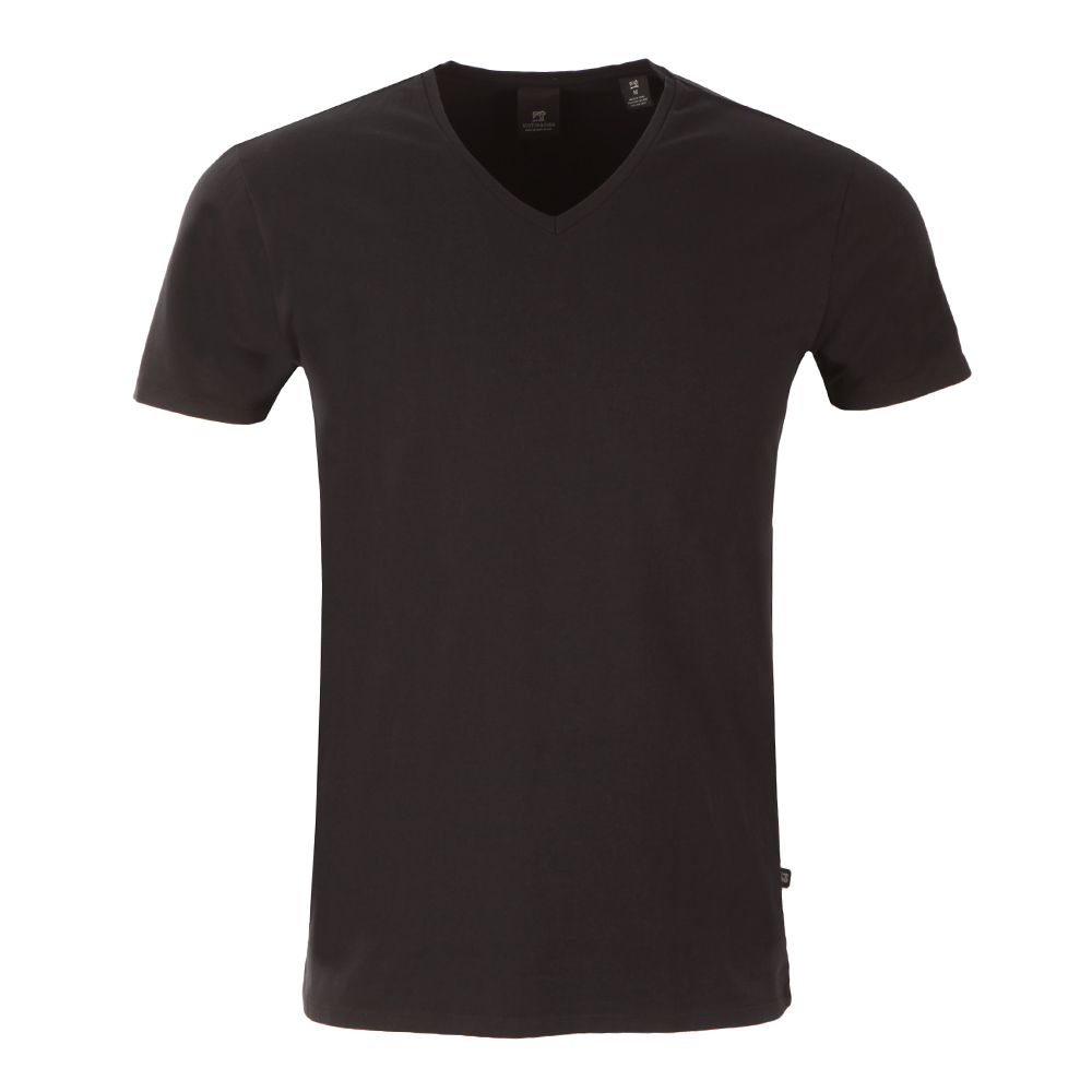 Cotton/Lycra V Neck T-Shirt  main image