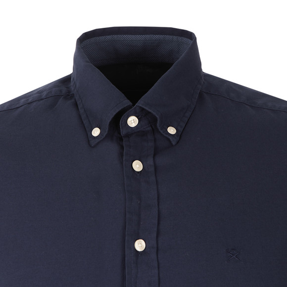 Hackett Mens Blue L/S Slim Fit Shirt main image