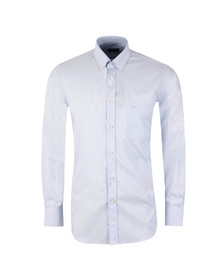 Paul & Shark Mens White Fine Stripe Shirt
