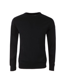 Paul & Shark Mens Blue Fine Wool Crew Neck Jumper